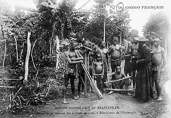 Congo Braz avt 1907 Teke (Bateke/Tio) People: Ancient Riverine Warriors, Cultural Dominant And Politically Powerful Ethnic Group In Central Africa