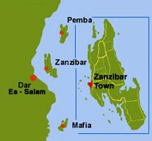 Portes d'Afrique Escale Zanzibar
